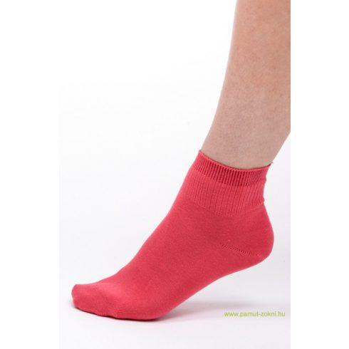 Bordás boka zokni - rózsaszín 39-40