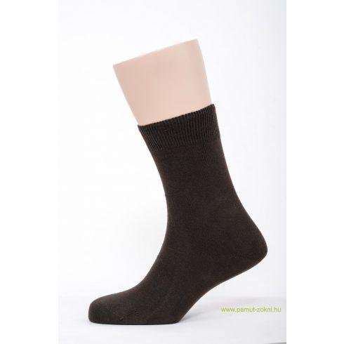 Brigona Komfort pamut zokni 2 pár - barna 43-44