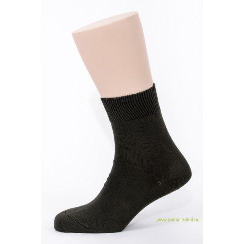 Brigona Komfort pamut zokni 5 pár - keki 39-40