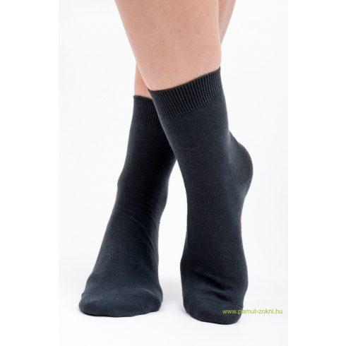 Brigona Komfort pamut zokni - szürke 37-38