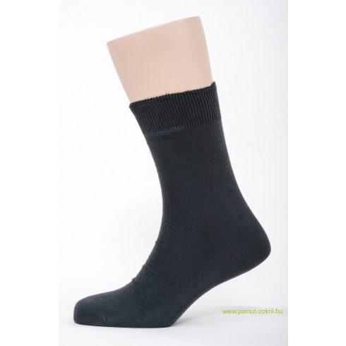 Brigona Komfort pamut zokni - szürke 43-44