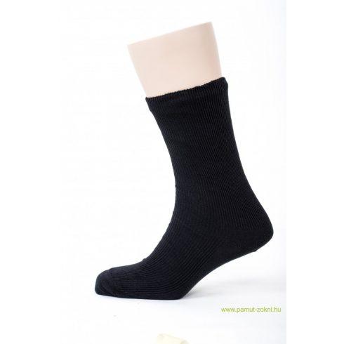 Brigona Komfort gumi nélküli zokni 5 pár - fekete 45-46