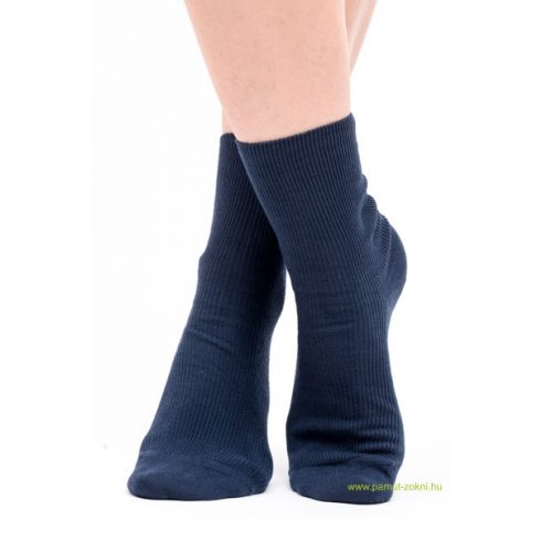 Brigona Komfort gumi nélküli zokni 5 pár - kék 39-40