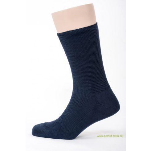 Brigona Komfort gumi nélküli zokni 2 pár - kék 43-44