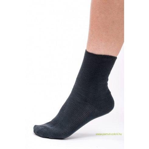 Brigona Komfort gumi nélküli zokni 5 pár - szürke 37-38
