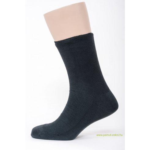 Brigona Komfort gumi nélküli zokni 5 pár - szürke 43-44