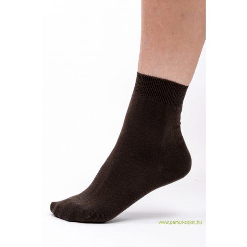 Classic pamut zokni 5 pár - barna 45-46
