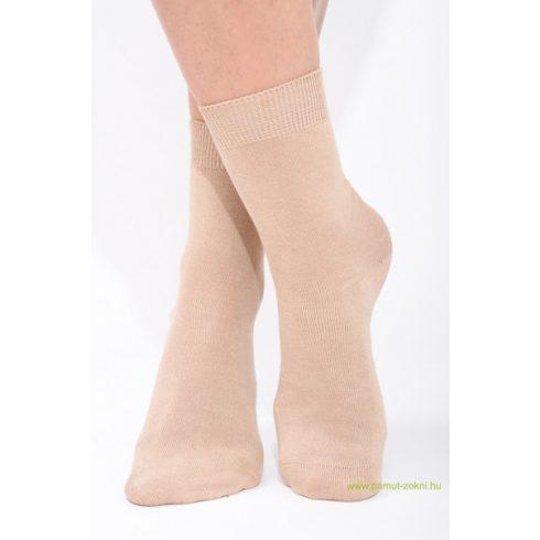 Classic pamut zokni - drapp 37-38