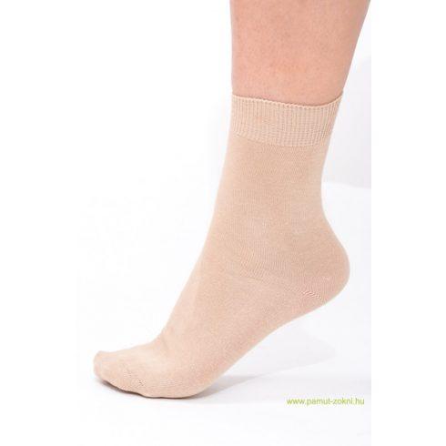Classic pamut zokni 5 pár - drapp 41-42