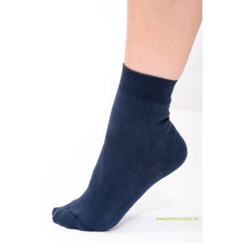 Classic pamut zokni - kék 33-34