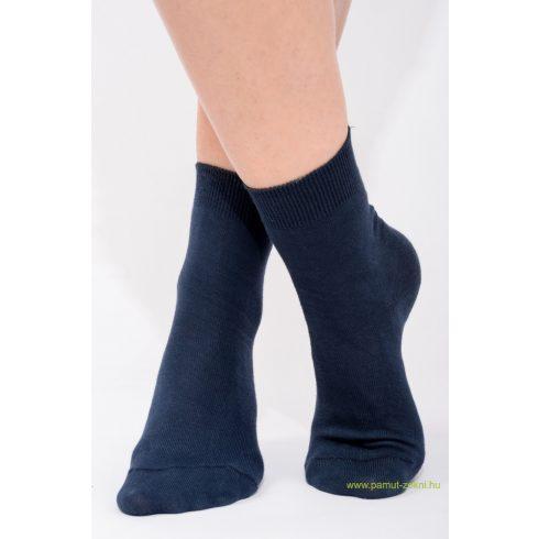 Classic pamut zokni 5 pár - kék 37-38