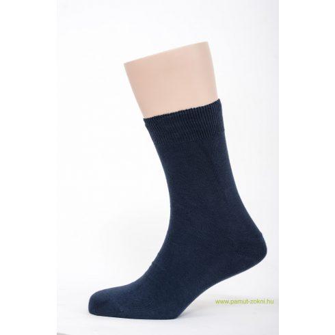 Classic pamut zokni 5 pár - kék 45-46