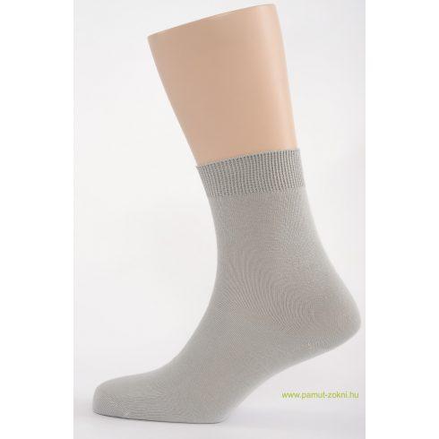 Classic pamut zokni - világos szürke 25-26