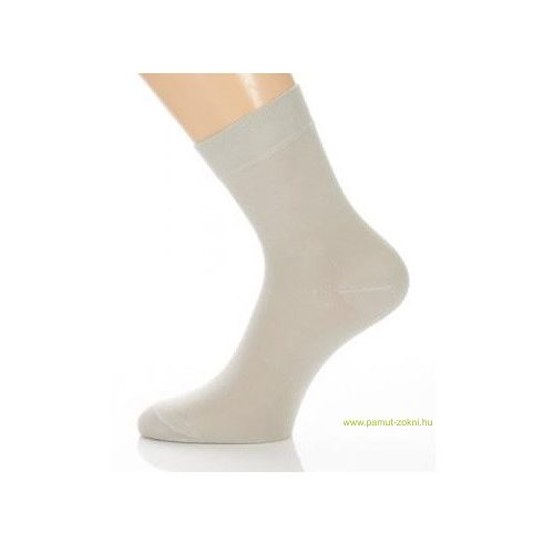 Classic pamut zokni - világos szürke 31-32