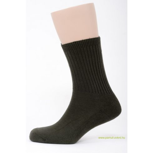 Frottír talpas zokni - keki 43-44