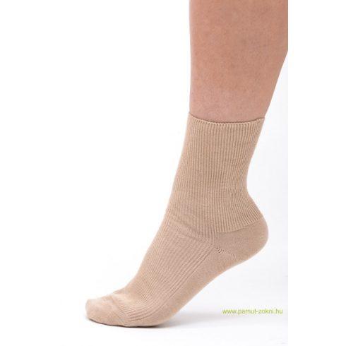 Medical, gumi nélküli zokni 2 pár - Drapp 37-38