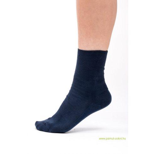 Medical, gumi nélküli zokni - Kék 35-36