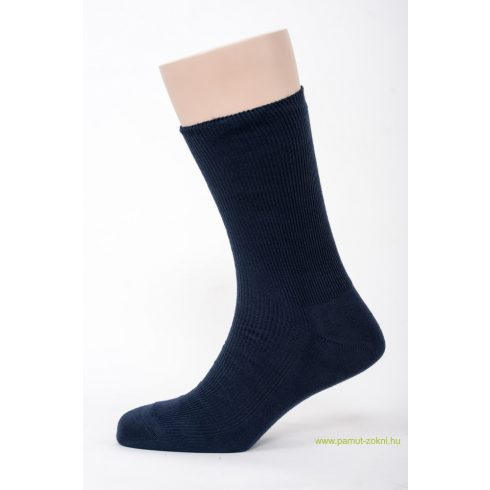 Medical, gumi nélküli zokni - Kék 43-44