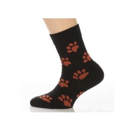 Gyerek zokni - Narancssárga mancsos 31-32