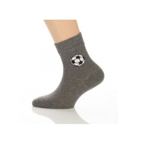 Gyerek zokni - Szürke focilabdás 31-32