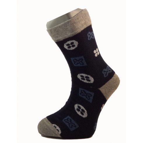 Gyerek zokni - Kék poker 33-34