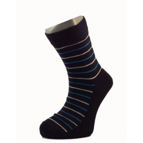 Gyerek zokni - Kék csíkos 31-32