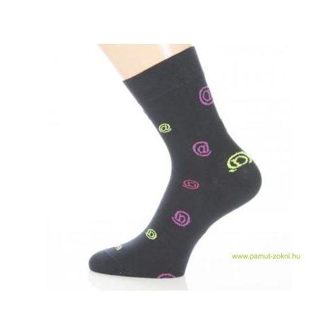 Gyerek zokni - Neon kukacos 31-32