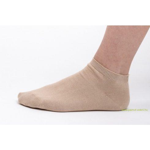 Titok pamut zokni - drapp 39-40