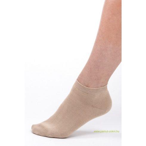 Titok pamut zokni - drapp 43-44
