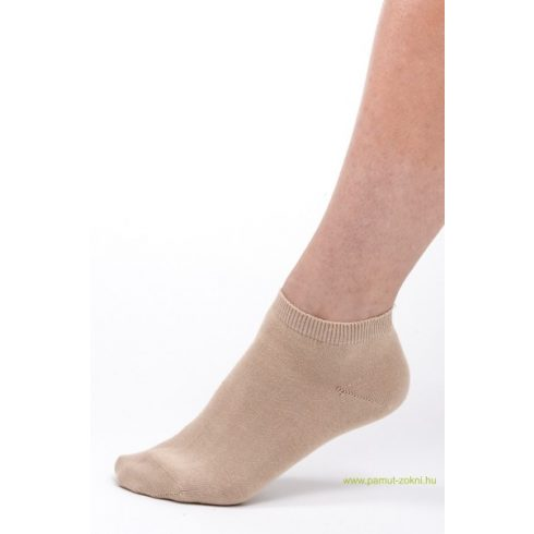Titok pamut zokni 2 pár - drapp 43-44
