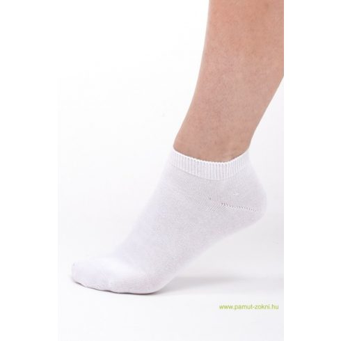 Titok pamut zokni 5 pár - fehér 45-46