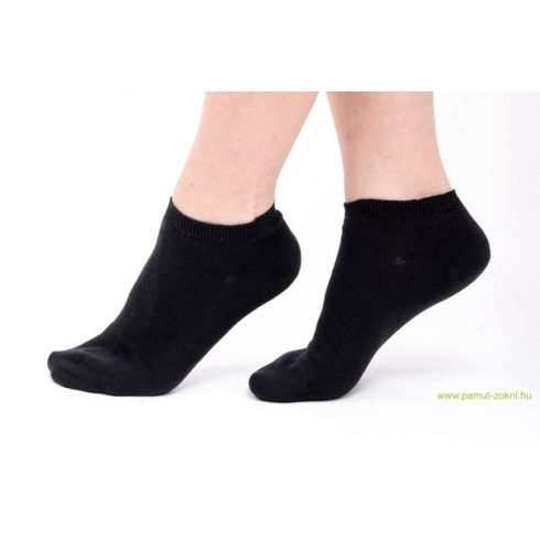 Titok pamut zokni - fekete 39-40