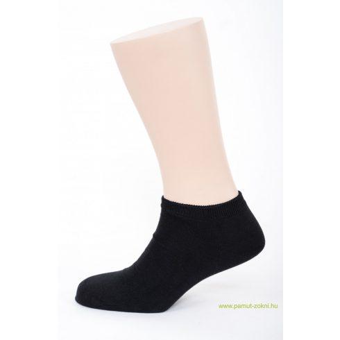 Titok pamut zokni - fekete 45-46